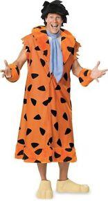 Fred Flintstone Costume Adult Teen Plus The Flintstones Cartoon TV Halloween