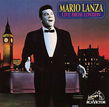Mario Lanza Live from London D'indy,VINCENT Audio CD Used - Good