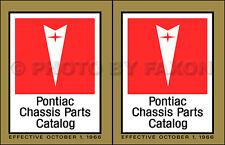 Pontiac Mechanical Parts Book Catalog 1967 1966 1965 1964 1963 Illustrated