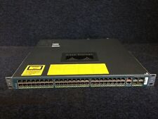 CISCO WS-C4948  Catalyst 4948 Switch 48Ports +  2 x PWR-C49-300AC