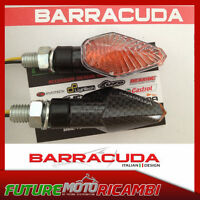 BARRACUDA COPPIA FRECCE MINI VIPER GAMBO CORTO UNIVERSALI CARBON LOOK INDICATORS