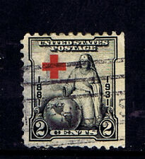 #702    2 CENT  RED CROSS  FANCY CANCEL     USED                       f