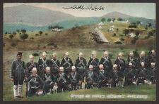 WW1 BALKAN WAR TURKEY ALBANIA MACEDONIA ARMY MILITARY SOLDIER FRUCHTERMANN