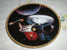 STAR TREK U.S.S. ENTERPRISE NCC-1701  PLATE  COA