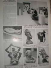 Article Jacob Epstein art exhibition Tate Gallery London 1952