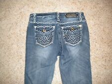 LA Idol Girls Jeans Size 14 W 26 1/2  L 32--Still in Great Condition