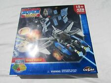 NFSB Cra-Z-Art Super Blox Space Battle Building Blocks 428 Pieces NEW