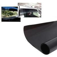20x150cm Black Car Window Tint Film 5% Summer Window Glass Solar Protection Case