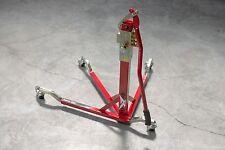 BURSIG Motorcycle Original Center-Lift Stand Paddock Track Garage Red Ducati Etc