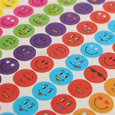 960x Smiley Faces Children Kids Reward Emoji Stickers For School Teacher Praise