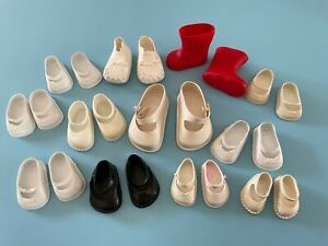 Vintage Clothes: Doll Shoes Ideal Toni Shirley Temple Effanbee Madame Alexander