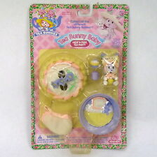 Tea Bunnies Bunny Baby Hide N Peek Party Playset MOC NEW 90s Vintage Bluebell