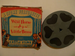 "Standard 8mm silent 1x200'' ""WILD HORSE & THE LITTLE BRAVE"" Orig. Box rare issue"