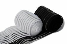 Rhinegold Air Cool Fleece Training Bandages - Pack of 4 - Black / White