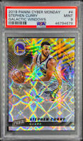 Stephen Curry 2019-20 Cyber Monday GALACTIC WINDOWS SSP /25 PSA 9 MINT POP 1 🔥
