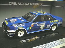 OPEL Ascona 400 B Rallye Monte Carlo 1980 Kulläng Publimmo #11 Sunstar RAR 1:18