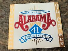 For the Record ALABAMA 41 Number One Greatest Hits 1980-1996 [HDCD] 2 CD Set 80s