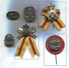 15/04   BADEN Abzeichen 6x  Grenadier Leibregiment 109er  KARLSRUHE
