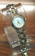 Genuine Relic (ZR11761) By Fossil Ladies Two Tone Stainless Steel Wrist Watch!