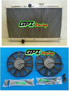 For TOYOTA COROLLA AE100 AE101 4A-FE 1.6L 7A-FE 1.8L ALUMINUM RADIATOR & fan