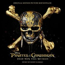 PIRATES OF THE CARIBBEAN: DEAD MEN TELL NO TALES CD - ORIGINAL SOUNDTRACK (2017)