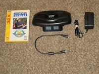 Works Great! Sega 32X Console 100% Complete w/ Cords Power w/ Golf Game Lot