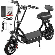 Foldable Electric Scooter 400W 48V12Ah Battery 28-34Mile Long-Range Up to 35km/h