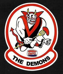 THE DEMONS & AMPOL promo Vinyl Decal Sticker MELBOURNE VFL AFL PETROL