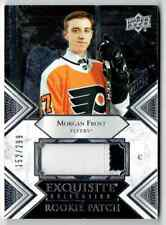 2019-20 EXQUISITE COLLECTION MORGAN FROST ROOKIE PATCH 2 COLORS 152/299