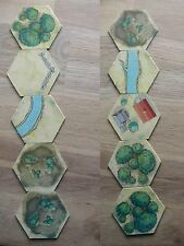 5 HEXS TERRAIN TILES /BATTLE CRY RICHARG BORG /6