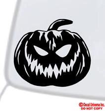 JACK-O-LANTERN Vinyl Decal Sticker Window Wall Bumper Pumpkin Happy Halloween
