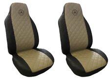 Front Seat Covers Mercedes A , B , C , E class Vito , Viano , Sprinter BEIGE BLA