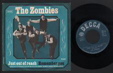 """7"""" THE ZOMBIES JUST OUT OF REACH / REMEMBER YOU 1965 ITALY PSYCHEDELIC ROCK BEAT"""