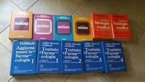 Libri di medicina - Terapia medica moderna - Trattato di Farmacologia etc