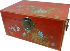 Leather Asian Oriental Decorative Boxes For Sale Ebay