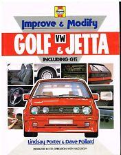MODIFICA tuning & migliorare VW Golf/Jetta MK1 MK2 84-92 Per Strada & Race LIBRO