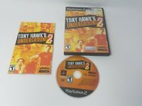 Tony Hawks Underground 2 Ps2 Black Label Game Tested and Working Complete!