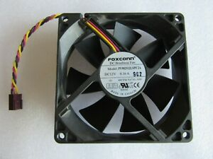 FAST POST - Dell Foxconn PV902512LSPF 2A Fan 12V 0.16A 3-Pin 90mm x 25mm 0Y673G