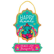DIWALI FESTIVAL OF LIGHTS HANGING SIGN ~ Birthday Party Supplies Decorations