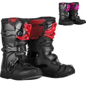 Fly Racing F20 Maverik MX Youth Boys Off Road Girls Dirt Bike Motocross Boots