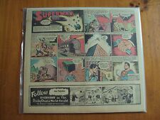 SUPERMAN SUNDAY PAGE #135, MAY 1942, SUPER BOY,  MCCLURE PUBL.