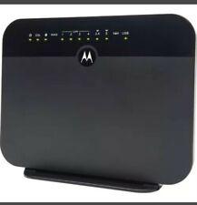 Motorola MD1600-10 VDSL2/ADSL2+ Modem Plus WiFi AC1600 Gigabit Router READ**