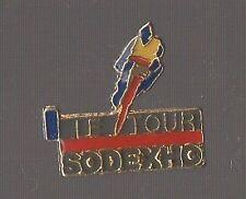 Pin's cyclisme / Le tour de France - Sodexho