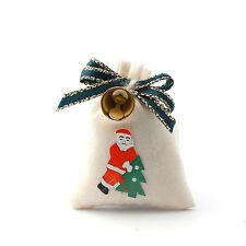 Santa's sack avec Bell, poupées maison miniature Noël Xmas Accessoire