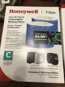 2-Pack 4 Total Honeywell Humidifier Wicking Filter C HC888 Series Free Shipping