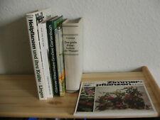 6x Gartenbuch Konvolut und Heilpflanzen und ihre Kräfte