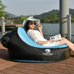 Beach Lounge Chair Outdoor Indoor Lazy Inflatable Sofa Portable Inflatable Sofa