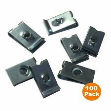 100 Speed Fasteners U Nuts Self Tapping Screw Spire U Clips Interior Trim Panels