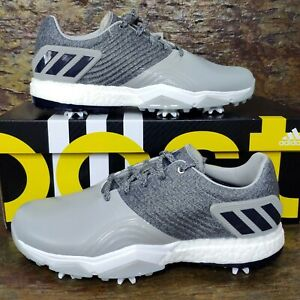 ADIDAS ADIPOWER 4ORGED 'Wide Fit' UK 7.5 US 8 - Mens Golf Shoe  - BB7860 - Boost