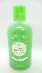 PERLIER Natural Recipes Foam Bath & Shower ~ Tiare ~ 33.8 oz / 1000 ml